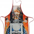 Free Rider Motorcycle Sexy Flirty Funny Novelty Apron For Men Father's Day