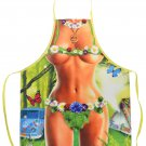 Hippy Woman Flirty Funny Novelty Kitchen Cooking Apron For Woman