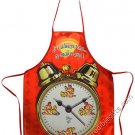 It's Always Time To Make Love Clock Sexy Flirty Novelty Apron For Woman