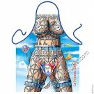La Femme Eiffel Tower French Sexy Flirty Funny Novelty Apron Womens Halloween