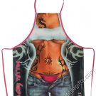 Lady Tattoo Apron Stylish Inked Up Sexy Flirty Funny Kitchen BBQ Apron For Women