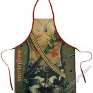 Military Man Apron Sexy Flirty Funny Novelty Kitchen Apron For Men Father's Day