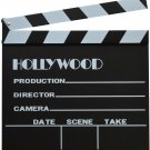 "Directors Film Making Independent Large Hollywood On Set Clapboard 12"" x 12"""