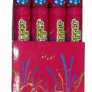"30"" Confetti shooter party poppers:  case of four (4)"