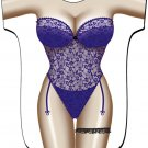 Purple Lingerie Cover-Up T-Shirt  PLUS SIZE T-Shirt Sexy Flirty Silly Crazy Summer Fun