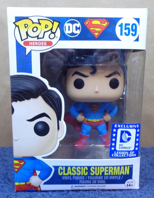 FUNKO POP! DC Comics Heroes Classic Superman #159 Legion Of Collectors Exclusive