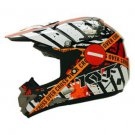 Helmets KYT Cross Over Verboden Black Red