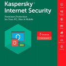 [Region Locked] Kaspersky Internet Security 2017 3 PCs Devices 1 Year Product Key Download
