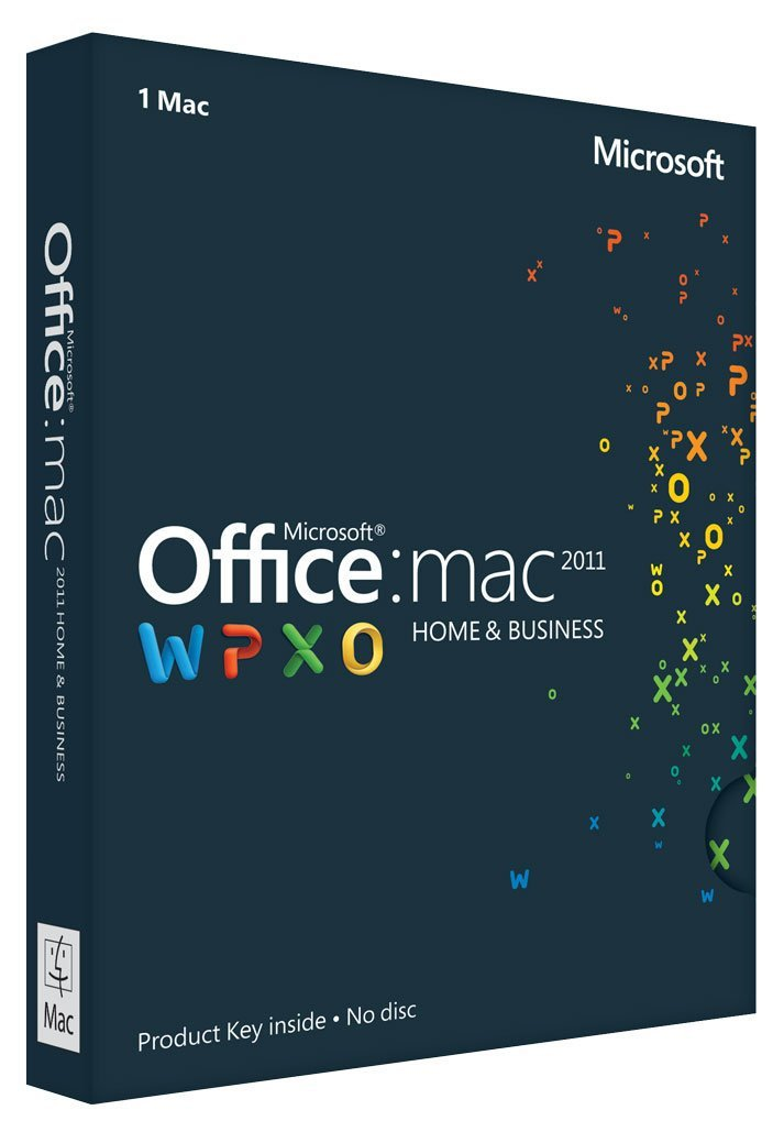 Microsoft Office Mac Home & Business 2011 (for Mac) - Full Version