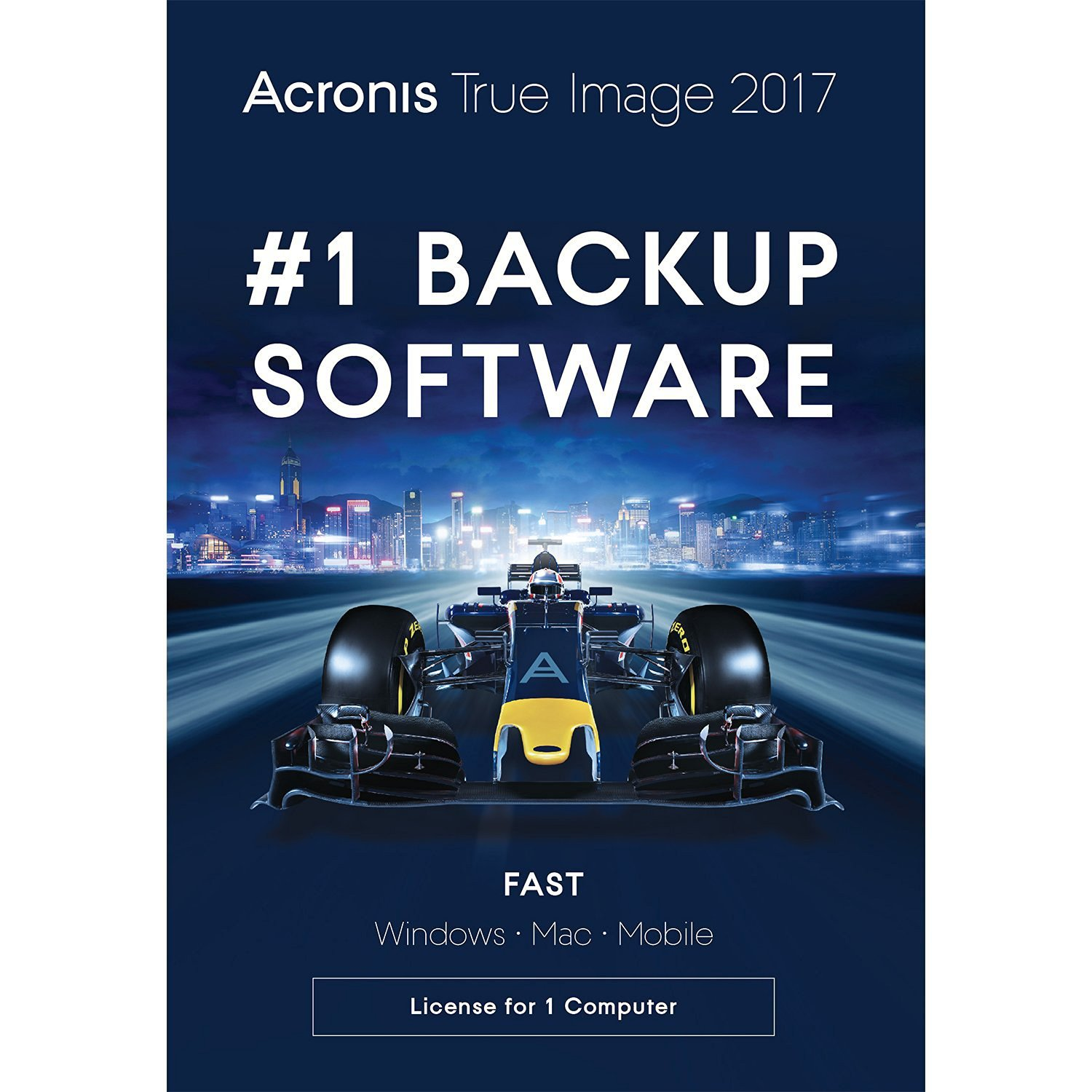 Acronis True Image 2015 / 2016 / 2017 for 1 PC or Mac Device Full Version