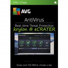 AVG AntiVirus 2017 - 3 PCs - 2 Years - Digital Product Key