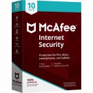McAfee Internet Security 2018 - 10 PCs / Devices - Full Version Product Key Download