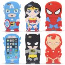 Captain America, Spiderman, Wonder Woman, Batman, Iron Man iphone 6 covers - $2.50 Shipping