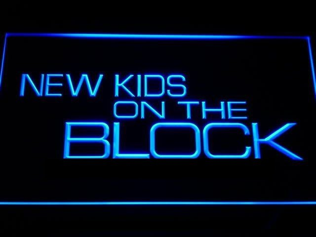NEW KIDS ON THE BLOCK LED NEON SIGN Music Artist- $2 Shipping