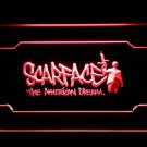 Scarface Pacino American Dream Movie LED Neon Light Sign - FREE SHIPPING