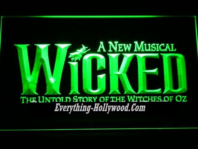 WICKED A NEW MUSICAL Neon Light Sign