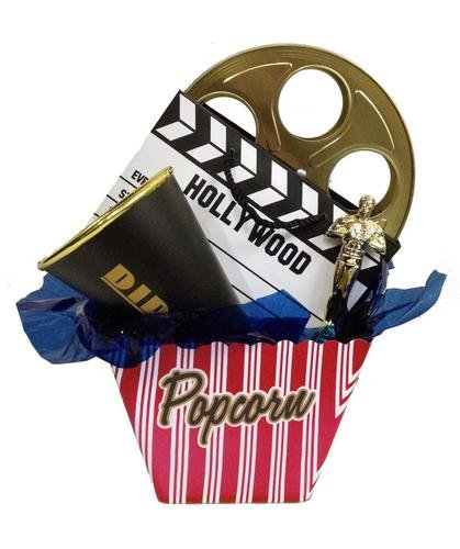 Movie Lovers Gift Basket Set
