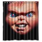 Chucky Childs Play Horror Design Shower Curtain