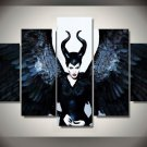 Maleficent Movie Angelina Jolie Framed Oil Painting Wall Decor- $3 Shipping Disney