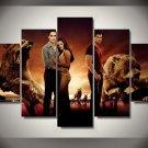 Twilight Saga Movie Framed Oil Painting Wall Decor 5pc