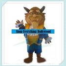 "Beauty and the Beast ""Beast"" Disney Character Mascot Adult Costume"
