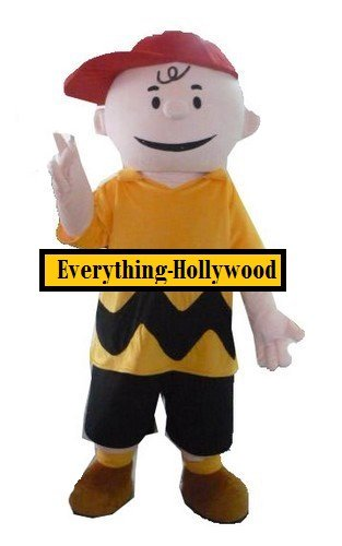 Charlie Brown Character Adult Mascot Costume