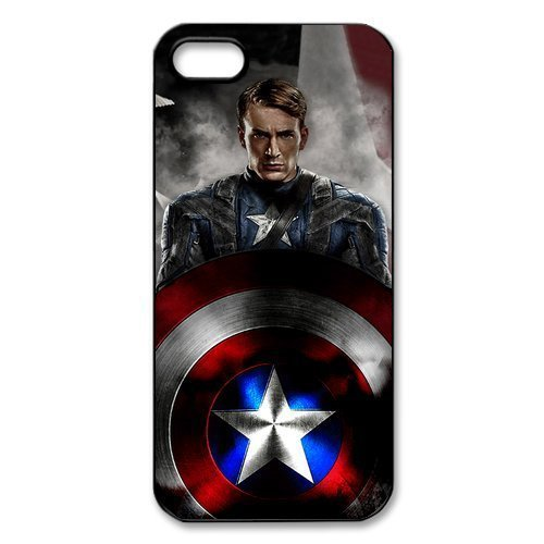 Captain America Movie Design for iPhone 4 4S 5 5S 5C-$1 SHIP