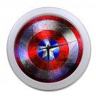 Captain America Shield Marvel Hollywood Design Clock