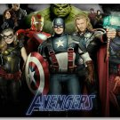 The Avengers Hollywood Silk Print Wall Poster-24x36