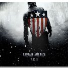 Captain America 1 Movie Winter Soldier Hollywood Silk Print Wall Poster 1-24X36 Superhero