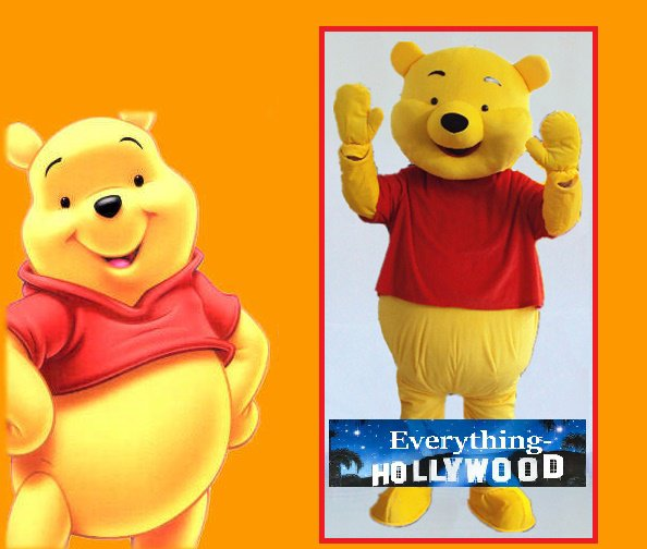 Winnie the Pooh Character Adult Mascot Costume