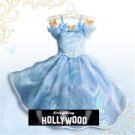 Classic Cinderella Princess Character Costume Dress CHILD /KID MULTIPLE SIZES