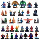 Marvel Superhero Character Mini Figures Building Blocks Minifigures 32 Pieces