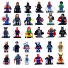 Marvel Character Superhero Mini Figures Building Blocks Minifigures 30 PCS-