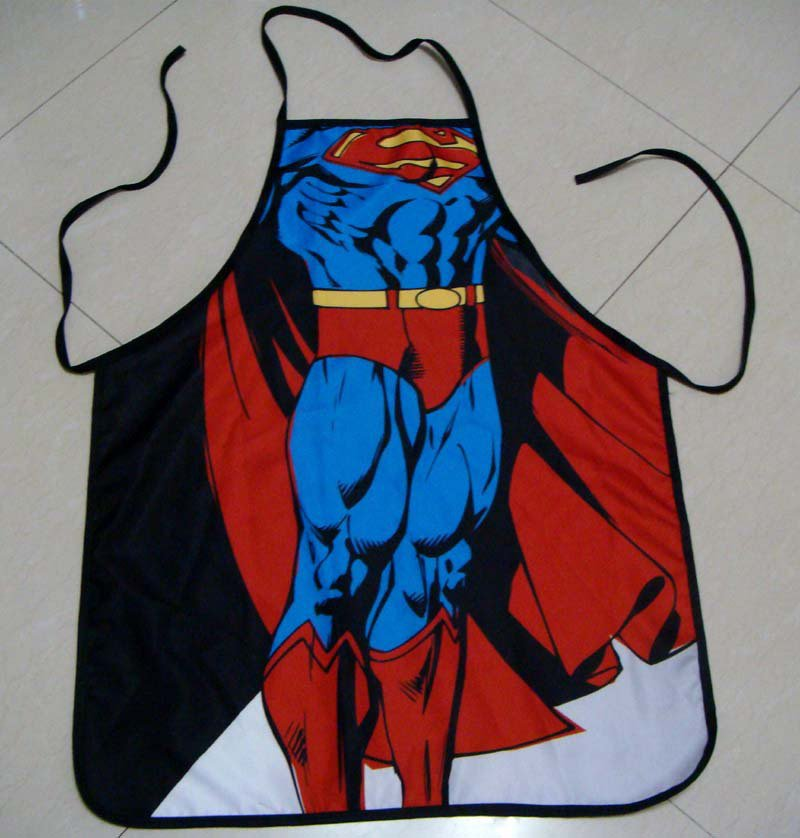 Superman 2 Character Body Print Apron - $2 SHIP