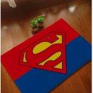 Superman Accent Bedroom Carpet, Bath or Door Mat -NEW