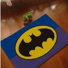 Batman Accent Bedroom Carpet, Bath or Door Mat -NEW