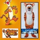 Tigger Mascot Coastumer Character Adult Halloween Costume