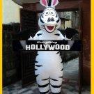 Madagascar Zebra Mascot Marty Character Adult Mascot Costume - NEW ARRIVAL