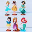Disney Princess Ariel Belle Snow White Cinderella Figures Set - NEW ARRIVAL