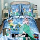Frozen Elsa Anna Olaf Design Bedding Cover Set 2 - King Size