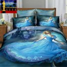 Cinderella 3D Design Bedding Cover Set NEW - King Size