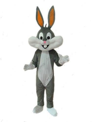 Bugs Bunny Mascot Costume Adult Cartoon Character