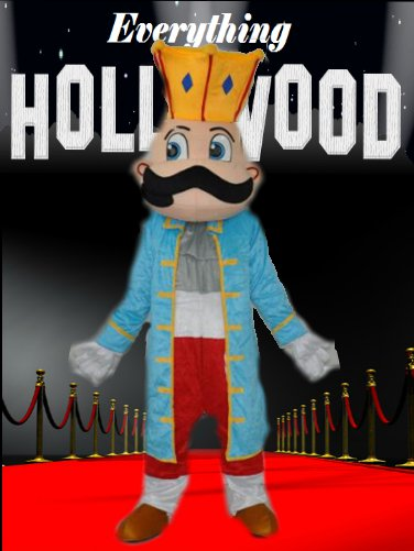 King Royal Mascot Costume Cartoon Character SALE ONLY $99