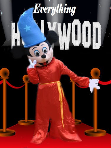 Mickey Mouse Fantasia Mascot Costume Cartoon Character NEW