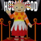 Upsy Daisy Mascot Costume Cartoon Character Adult Size
