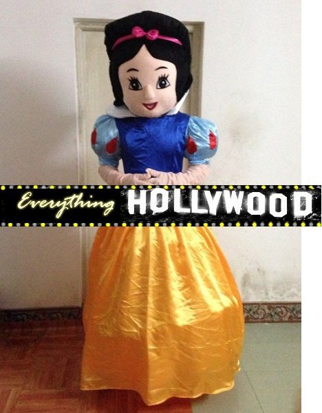 Snow White Mascot Costume Adult Cartoon Character -SALE LIMITED TIME