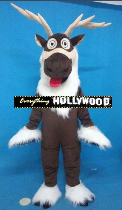 Sven Mascot Costume Adult Cartoon Frozen Character -NEW ARRIVAL