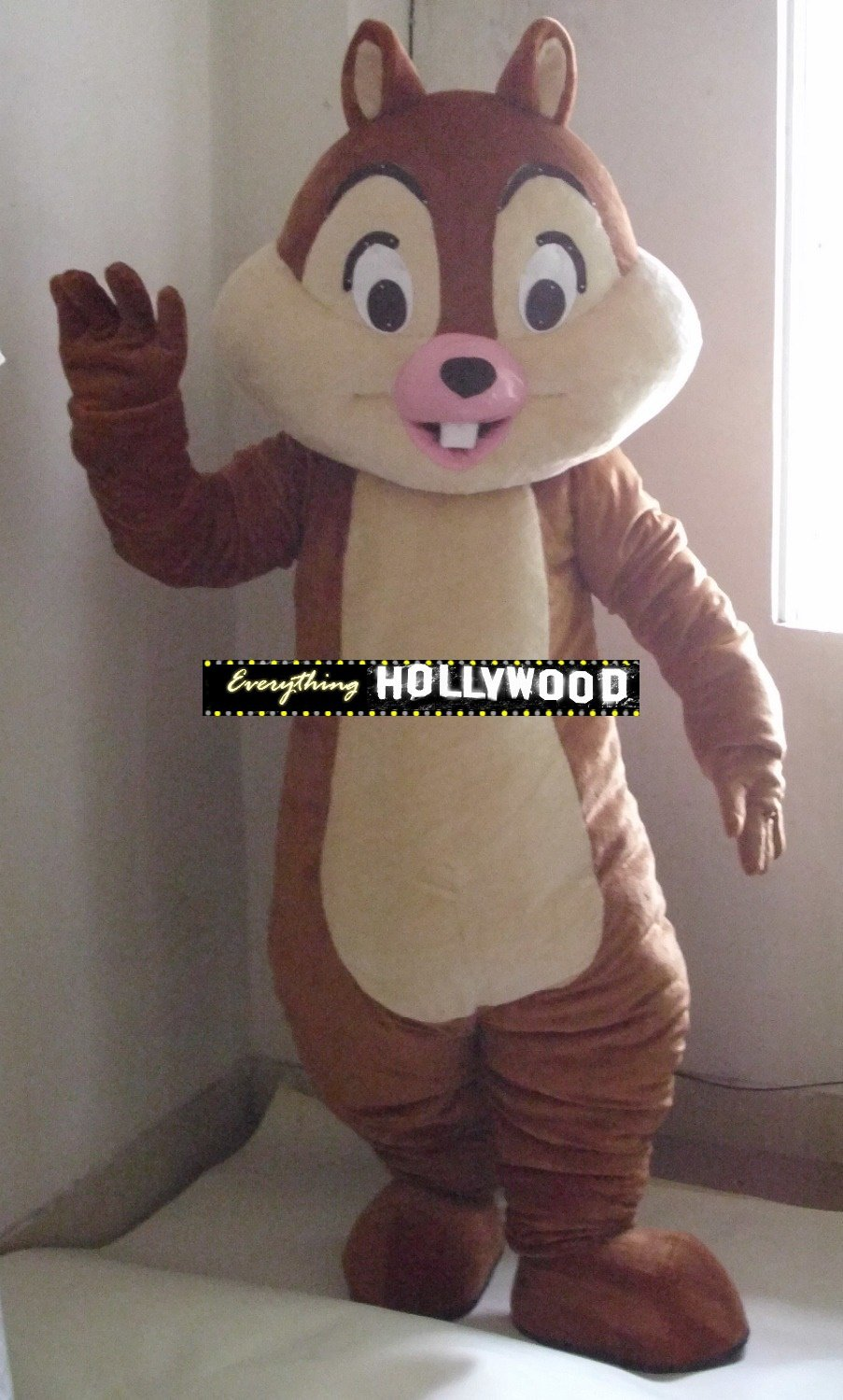 Chip and Dale Mascot Costume Disney Squirrel Character