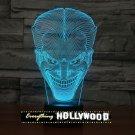 The Joker 3D LED Light Lamp Tabletop Character Decor 7 Colors -NEW
